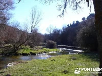 Senderismo Segovia - Riberas de los ríos Pirón y Viejo; viajes camino de santiago; parques natural